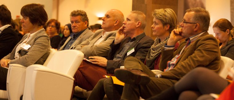 Participants listened interested to the potentials of transitions